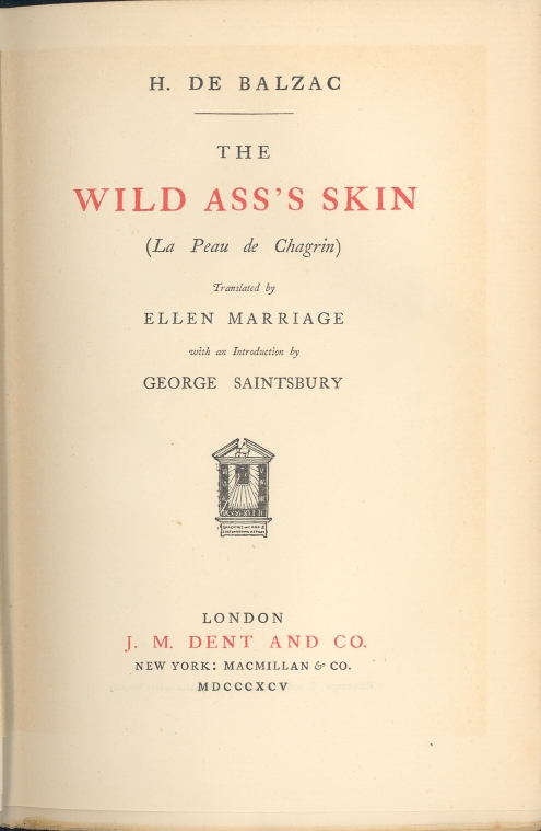 Figure 2. The title page of the example text.